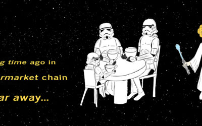 A long time ago in a supermarket chain not so far away